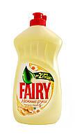 Средство для мытья посуды Fairy Нежные руки Ромашка и витамин Е - 500 мл.