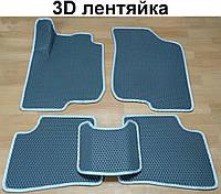 Водо- и грязезащитные коврики на Kia Ceed '10-12 из экологически чистого материала EVA