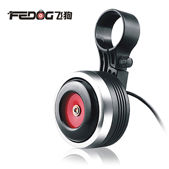 Вело клаксон / гудок / сигнал с выносной кнопкой FEDOG F-118 на USB / 1500 мАч / моноблок / 120 Дб