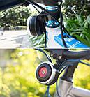 Вело клаксон / гудок / сигнал с выносной кнопкой FEDOG F-118 на USB / 1500 мАч / моноблок / 120 Дб, фото 6