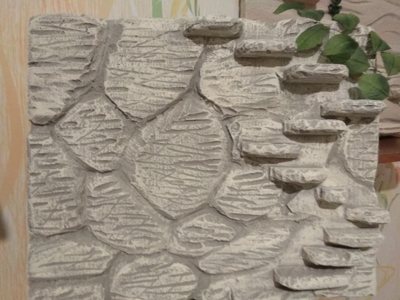 Фон для террариума - камни со ступеньками