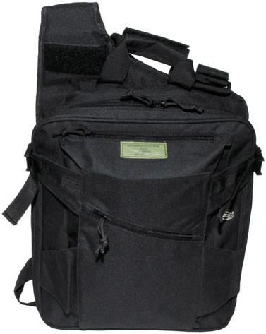 Жилет, рюкзак и сумка в одном, чёрный MFH 30990A