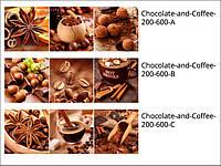 Стеклянные декоры для кухни и кафе Chocolate-and-Coffee