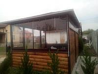 Мягкие окна, прозрачные шторы пвх для беседки на заказ