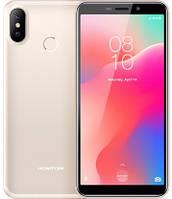 """Смартфон Homtom C1 1/16Gb Gold, 13+2/8Мп, 4 ядра, 2sim, экран 5.5"""" IPS, 3000mAh, GPS, 3G, MT6580A"""