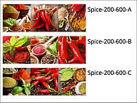Стеклянные декоры для кухни и кафе Spice