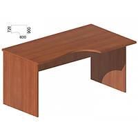 Стол руководителя фигурный (1600x900/720) Мега М-258