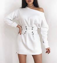 """Теплое платье на флисе с корсетом """"Furor"""", фото 3"""