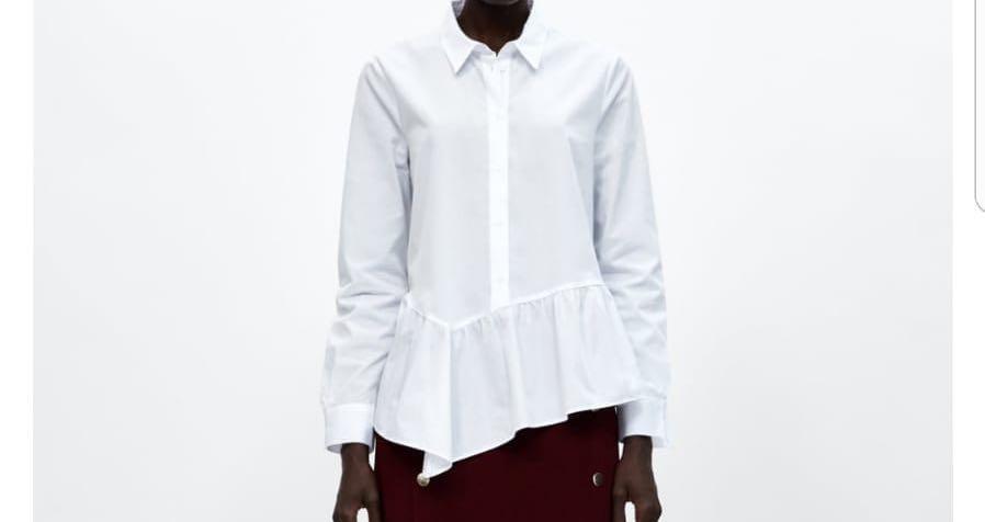 Рубашка-блуза Zara качество