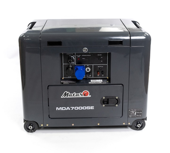 ⚡MATARI MDA7000SE-ATS (5 кВт)+ АВР (подогрев и автоматический запуск)