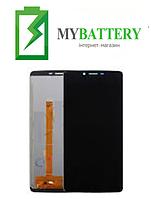 Дисплей (LCD) Oukitel K8 с сенсором черный