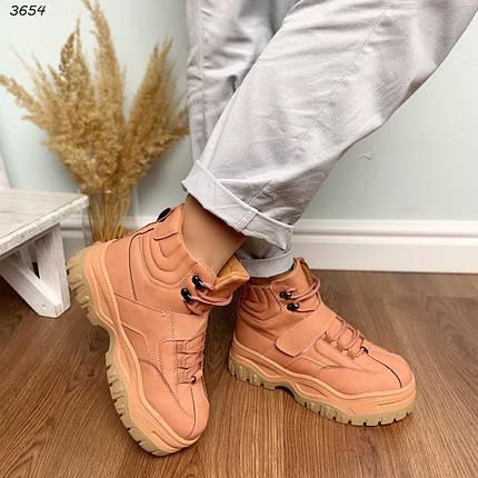 Модные зимние ботинки женские, фото 2