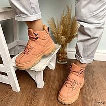 Модные зимние ботинки женские, фото 3