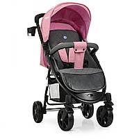 Прогулочная коляска-книжка El Camino Favorit M 3409L Pale Pink Розовый