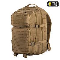 Рюкзак M-Tac Large Assault Pack Laser Cut Tan, фото 1