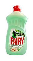 Средство для мытья посуды Fairy Нежные руки Чайное дерево и мята - 500 мл.