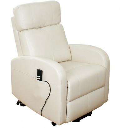 Подъемное кресло с двумя моторами, CAROL (белое)