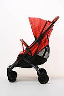Детская удобная компактная коляска Yoya Plus Pro Оранжевая легкая маневренная прогулочная Бесплатная Доставка