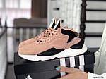 Жіночі кросівки Adidas Y-3 Kaiwa (пудрові), фото 2