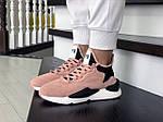 Жіночі кросівки Adidas Y-3 Kaiwa (пудрові), фото 3