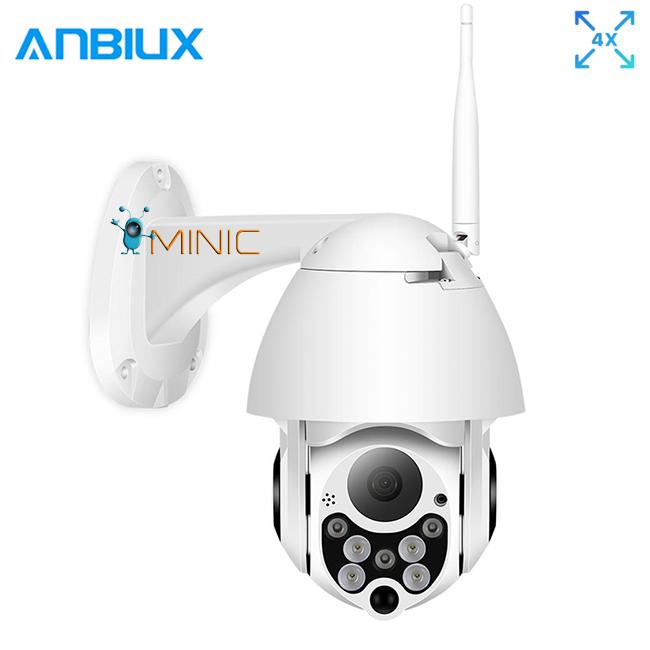 Поворотная IP WI-FI камера ANBIUX C-P05 следящая за объектом, зум 4Х, 1080p