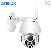 Поворотная IP WI-FI камера ANBIUX C-P05 следящая за объектом, зум 4Х, 1080p, фото 1