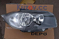 Передняя фара правая BMW 1 E81/E87 '07-11 (Depo)