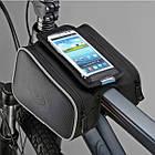 """Велосумка """"штаны"""" нарамная Roswheel 12813 с отделением для телефона 5.0"""" / 5.7"""", фото 3"""