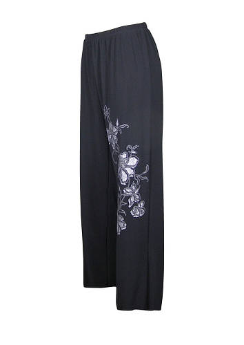 Трикотажные брюки на резинке Ветка