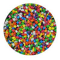 """Посыпка """"Разноцветные звезды"""", 50 гр."""