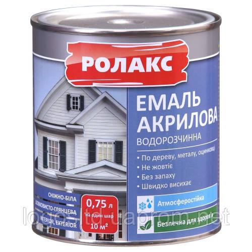 Эмаль акриловая водорастворимая Premium 0,93кг без запаха
