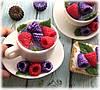 """Мыло """"Чашка чая с ягодками"""""""
