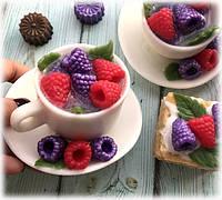 """Мыло """"Чашка чая с ягодками"""", фото 1"""