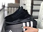 Жіночі кросівки Adidas Y-3 Kaiwa (чорні), фото 2