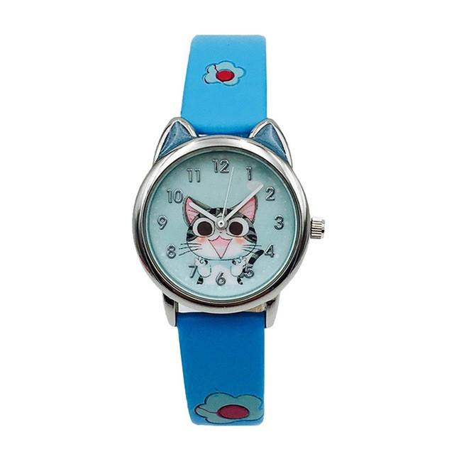 Детские часы Joyrox kitty blue