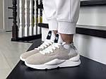 Женские кроссовки Adidas Y-3 Kaiwa (бежевые), фото 4