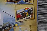 """Конструктор SLUBAN """"Пиратский корабль"""" 226 деталей., фото 3"""