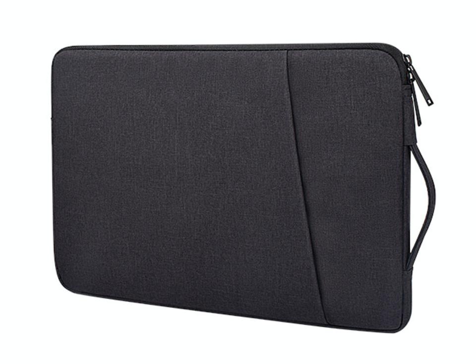 Чехол для Macbook Air/Pro 13,3'' с ручкой - черный