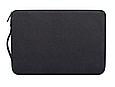 Чехол для Macbook Air/Pro 13,3'' с ручкой - черный, фото 3