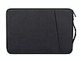 Чехол для Macbook Air/Pro 13,3'' с ручкой - черный, фото 2