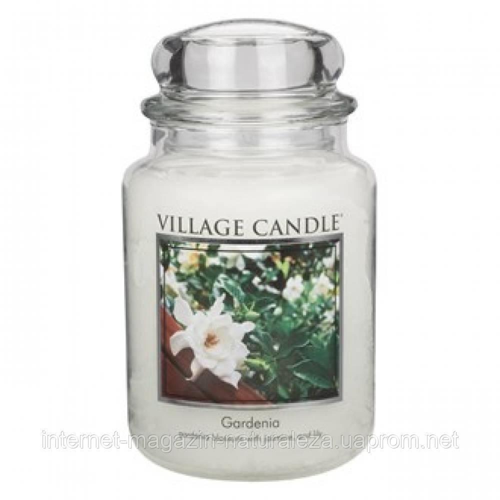 Арома свеча Village Candle Гардения (время горения до 170 ч)