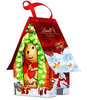 Шоколадный мишка Lindt Teddy House 100 g, фото 1