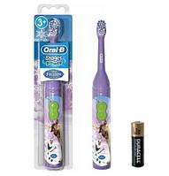 Детская электрическая зубная щетка Oral-B Kid's, Холодное сердце, Олаф и Свен - Frozen