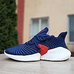 Мужские кроссовки Adidas Alphabounce Instinct (сине-красные), фото 2