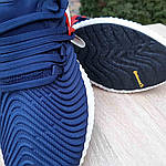 Мужские кроссовки Adidas Alphabounce Instinct (сине-красные), фото 7