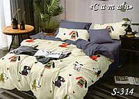 Комплект постельного белья Тет-А-Тет двуспальное  S-314