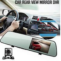 L1018 HD Ночное видение 4,3 дюймов Автомобильный Видеорегистратор Зеркало ХИТ СЕЗОНА
