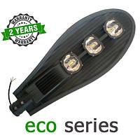 Консольный уличный светильник LED 150W 6000-6500К с линзой серия ECO