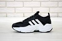 Мужские кроссовки Adidas Consortium x Naked Magmur Runner Black