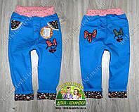 Яркие джинсы для девочки